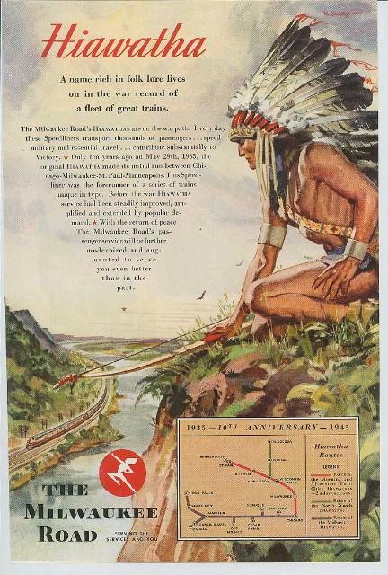 Hiawatha advertisement Large Web view
