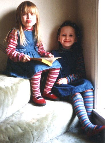 Little sophie and little emma