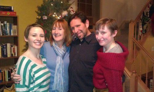Family photo xmas