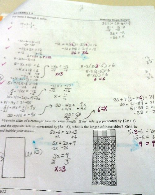 Algebra crap